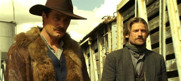 Padraic Delaney and Nikolaj Coster-Waldau in Blackthorn
