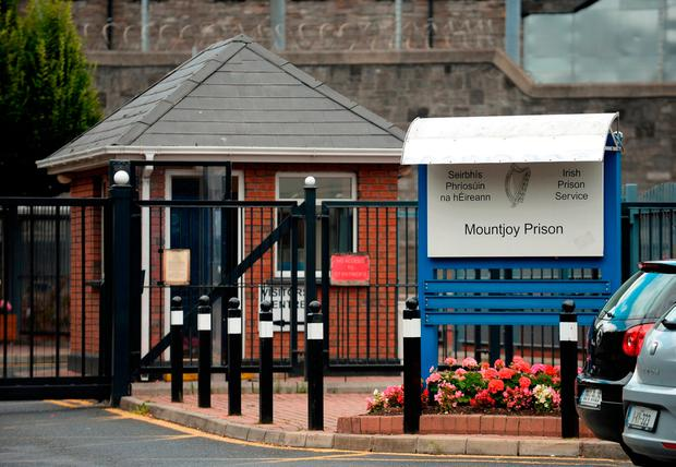 He will spend the next week at Mountjoy Prison