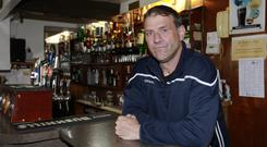 Aidan O'Toole was working in the Heights Bar at the time of the attack and was shot but survived.