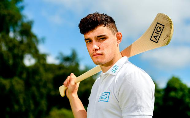 Pictured at the AIG Insurance GUI & ILGU Cups & Shields Launch at Carton House in Maynooth is Dublin hurler Eoghan O'Donnell. Photo: Sam Barnes/Sportsfile