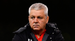 Wales Head coach Warren Gatland. Photo: Ramsey Cardy/Sportsfile