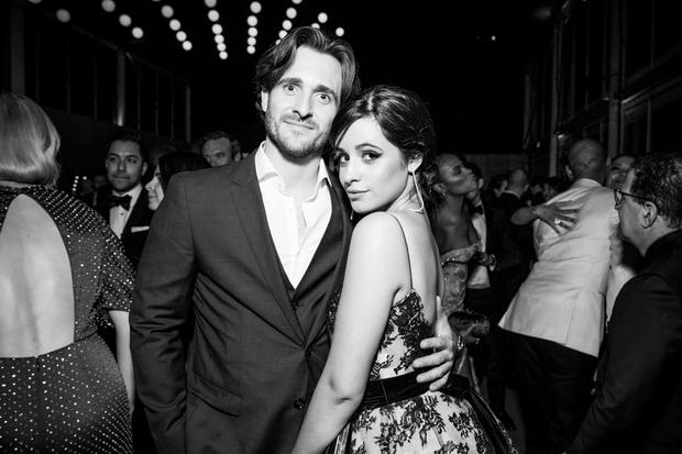 Matthew Hussey (L) and Camila Cabello attend the 2019 Vanity Fair Oscar Party hosted by Radhika Jones at Wallis Annenberg Center for the Performing Arts on February 24, 2019 in Beverly Hills, California. (Photo by Emma McIntyre /VF19/WireImage)