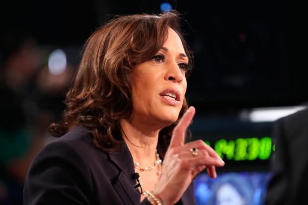 Standout performer: Democratic presidential candidate Kamala Harris after the second night of TV debates. Photo: Getty