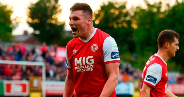 Kevin Toner of St Patrick's Athletic. Photo: Sportsfile