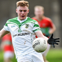 Kildare's Adam Tyrrell, in action for his club Moorefield, is the football championship's current top scorer. Photo: Sportsfile