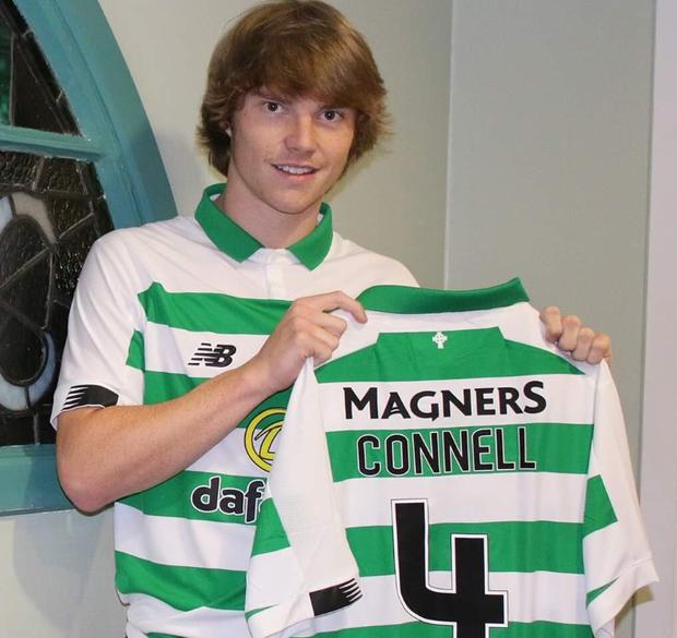 Republic of Ireland youth Luca Connell signs from Bolton