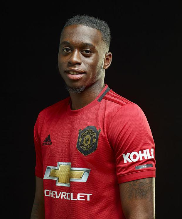 New Manchester United signing, Aaron Wan-Bissaka. Photo Credit: Manchester United/Getty Images