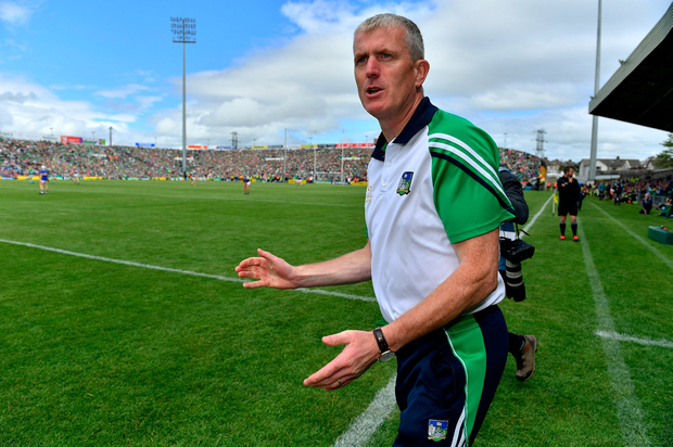 John Kiely wants his Limerick forwards to be more clinical. Photo by Brendan Moran/Sportsfile