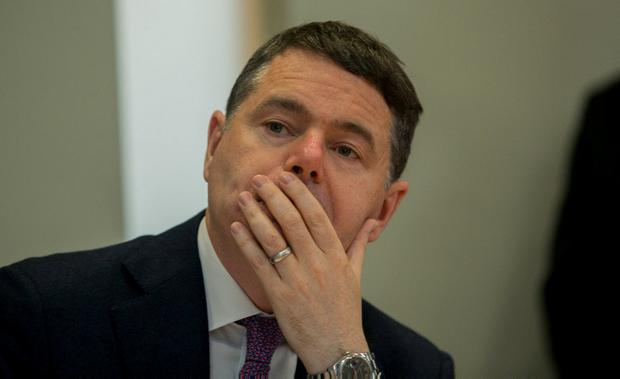 Finance Minister Paschal Donohoe. Photo: Gareth Chaney, Collins