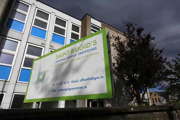 St Brigid's National School in Greystones. Photo: Mark Condren