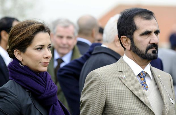 'Family friend': Princess Haya, wife of Sheikh Mohammed, is said to have travelled to Germany. Photo: Alan Crowhurst/ Getty Images