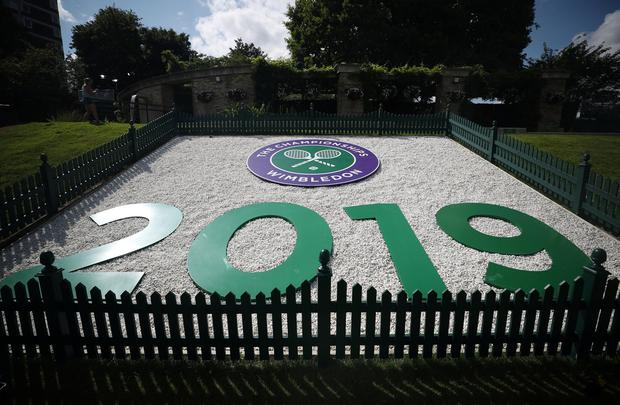 Wimbledon begins today. Photo: REUTERS/Hannah McKay