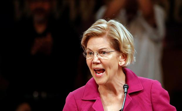 Elizabeth Warren: The Democratic candidate talked of 'love letters' Photo: Reuters
