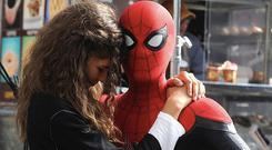 Spider-Man Far from Home - Zendaya and Tom Holland