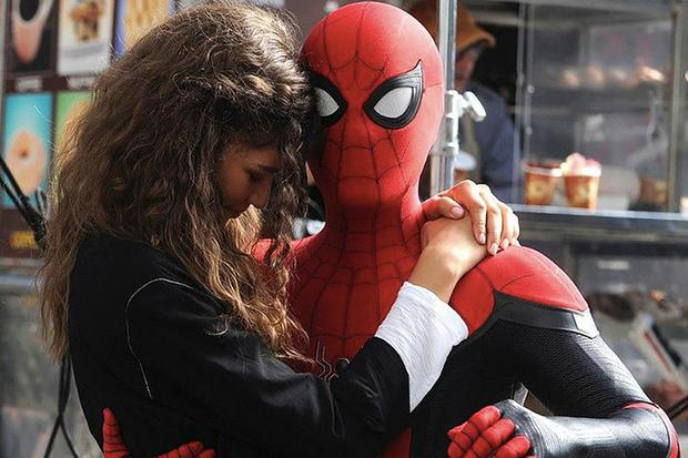 MAN: FAR FROM HOME Swinging Towards Tuesday Domestic Debut Record