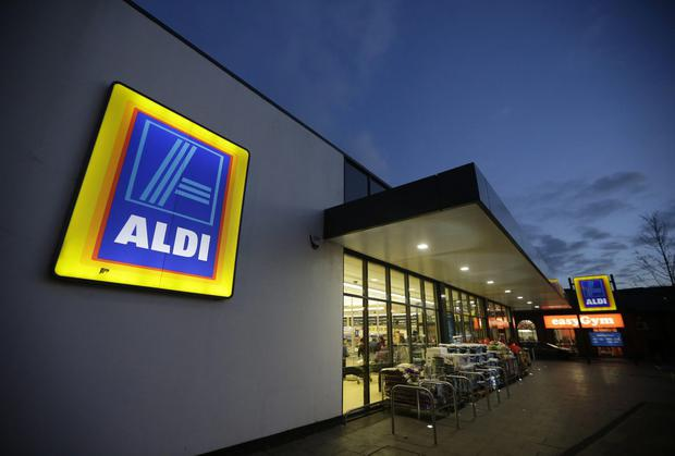 Growth: German supermarket brand Aldi has recorded the highest sectoral growth with sales 12.8pc higher than a year ago for a 12.5pc share. Photo: Bloomberg