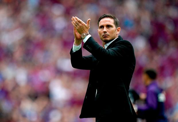Lampard was excused from the start of pre-season training by Derby yesterday and today, as he finalised his return to Chelsea. Photo: PA