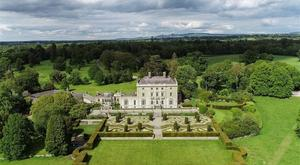 Aerial view of the 1,120ac Abbey Leix estate