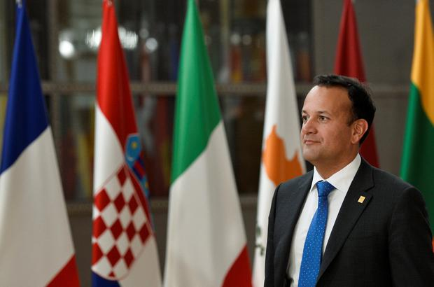 Contender: Taoiseach Leo Varadkar at the EU leaders' summit to select candidates for top EU jobs in Brussels. Picture: Reuters