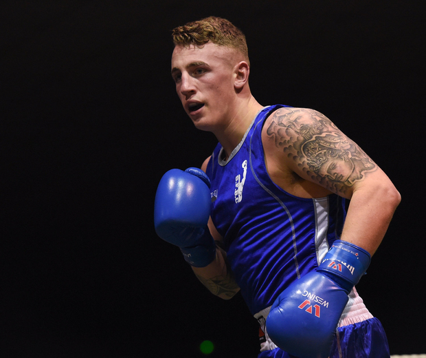 Class: Boxer Kevin Sheehy had planned to turn professional. Photo: Sportsfile
