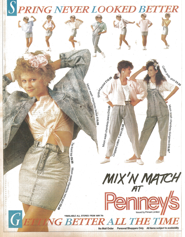 An old advert from the 1990s