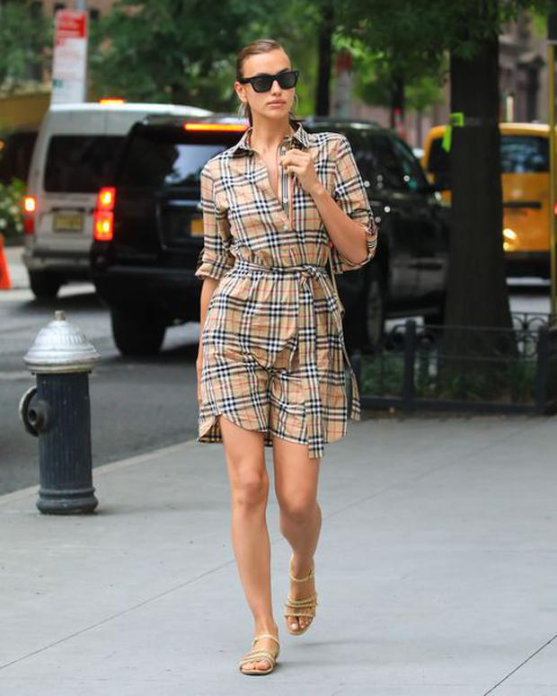 Irina Shayk in New York City