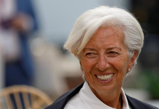 Top banker: IMF chief Christine Lagarde is to be new ECB president. Photo: REUTERS/Carlos Jasso/File Photo