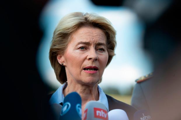 Ursula von der Leyen. Photo: AFP/Getty Images