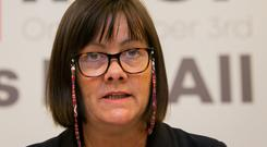 'Depressing': ICTU president Sheila Nunan said house prices have risen 80pc since low point of the recession. Photo: Gareth Chaney, Collins