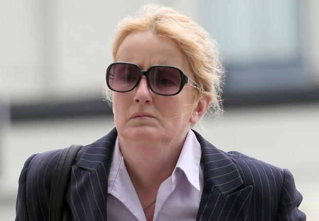 Scurrilous lies: Garda Eve Doherty was jailed after writing abusive letters to her lover's former partner, Elizabeth Howlin. Photo: Collins Courts