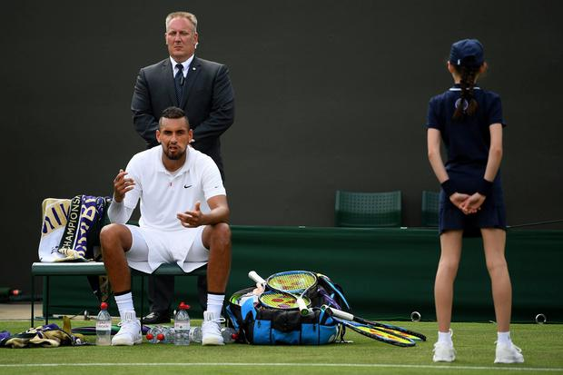 Australia's Nick Kyrgios. Photo: Shaun Botterill/Getty Images
