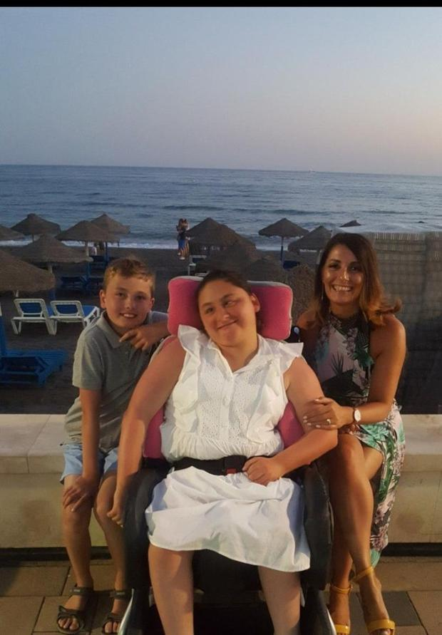 Ciara Ormond with brother Cillian and mum Jean