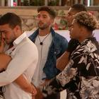 Molly-Mae and Tommy are reunited on Love Island. PIC: ITV