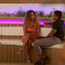 Amber and Michael on Love Island. PIC: ITV Studios