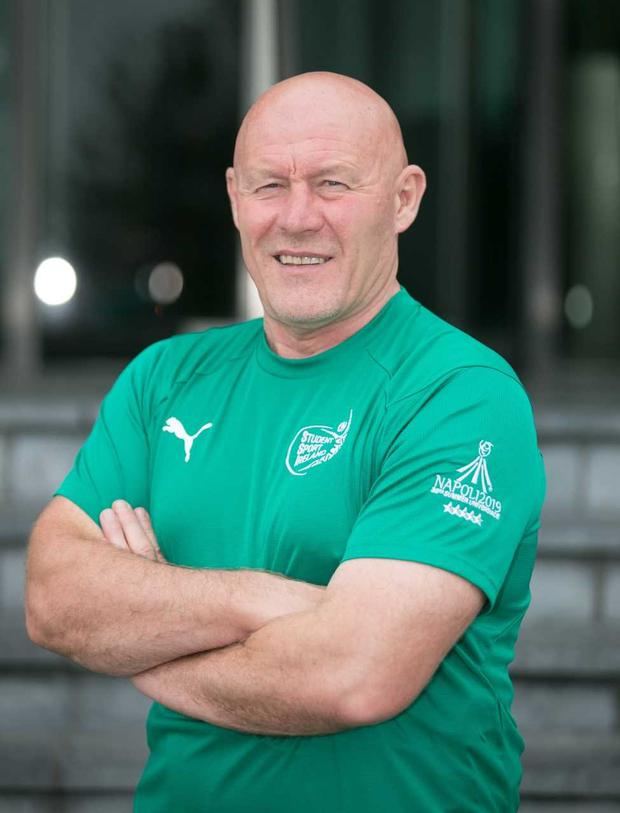 Ireland Colleges head coach Dave Connell