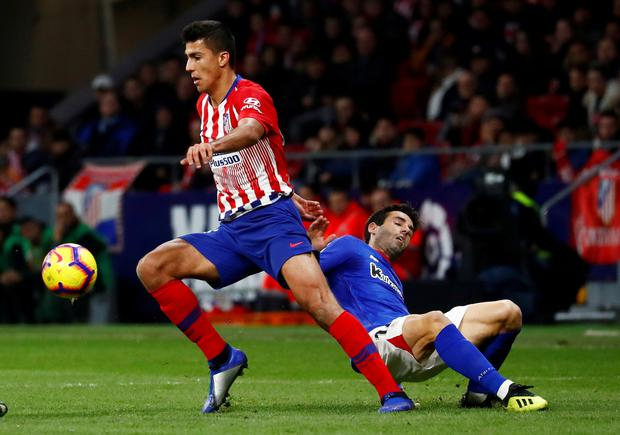 Manchester City have bought out Atletico Madrid midfielder Rodri's contract. Photo: Reuters