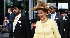Royal couple: Sheikh Mohammed bin Rashid al-Maktoum and Princess Haya. Photo: Getty