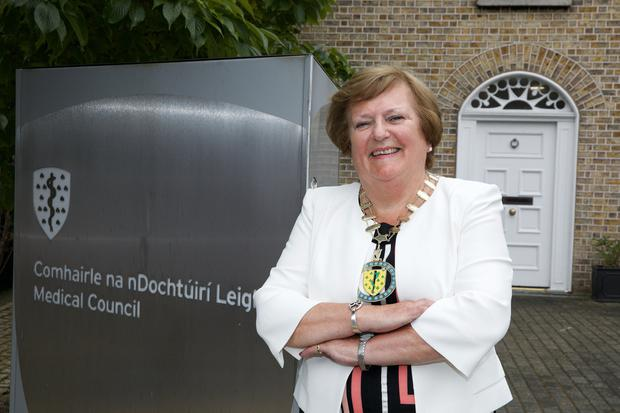 Medical Council president Rita Doyle says bullying must end