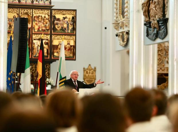 President Michael D Higgins' keynote address at Leipzig University