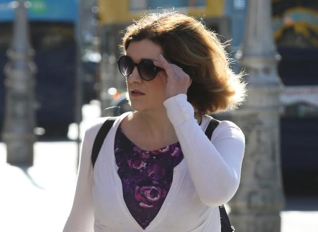 Frances Winston pictured at the Four Courts for a Circuit Civil Court action. Pic: Collins Courts