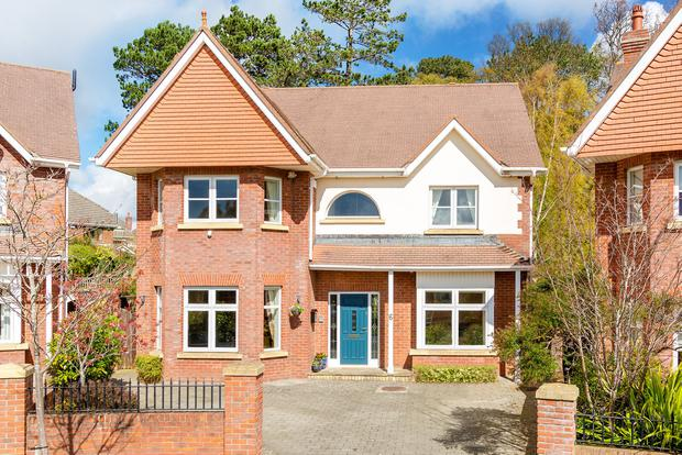 No6 Pavilion Gate in Foxrock, Dublin 18, is a six-bed detached home for sale for €1.125m