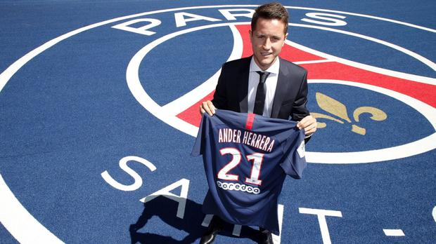 Ander Herrera joins Paris Saint Germain