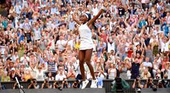 Cori Gauff of the U.S. celebrates winning her third round match against Slovenia's Polona Hercog REUTERS/Toby Melville TPX IMAGES OF THE DAY