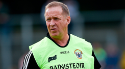 Clare manager Colm Collins has his sights firmly set on the 'Super 8s'. Photo: Sportsfile