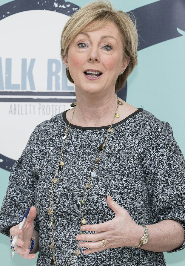 Tight-lipped: Minister Regina Doherty refused to be drawn on any plans for social welfare increases. Photo: Paul Sherwood