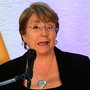 Stands by report: UN's human rights commissioner Michelle Bachelet. Photo: Getty Images