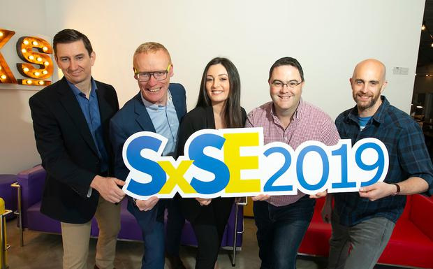 Pierre Peiclier, IT Director, Sun Life Financial, Colin Donnery, General Manager, FRS Recruitment, Aoife O'Brien,Global Head of Recruitment, Taxback Group, Mike Kelliher, Director, Threefold Systems, Ray Carroll, Technical Architect, Vhi