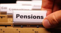 Irish defined benefit pension schemes have continued to reduce their allocation to equities, which now stand at just 28pc of their investments, compared with 34pc in 2018. (Stock photo)