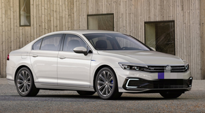 Looks good: The redesigned, technically advanced new Passat