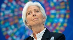 Has her critics: Christine Lagarde's appointment as President of the European Central Bank was a surprise. Photo: SAUL LOEB/AFP/Getty Images
